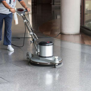 Floor Buffing, Stripping & Waxing